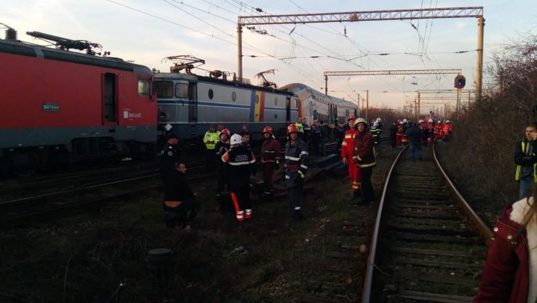 Acum: Tren rămas fără frâne la Golești. A lovit macazul