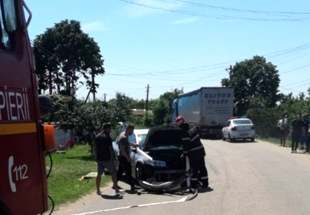 accident frontal politie