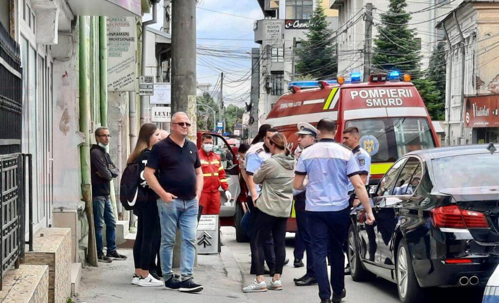 accident ambulanta politie zinca pitesti