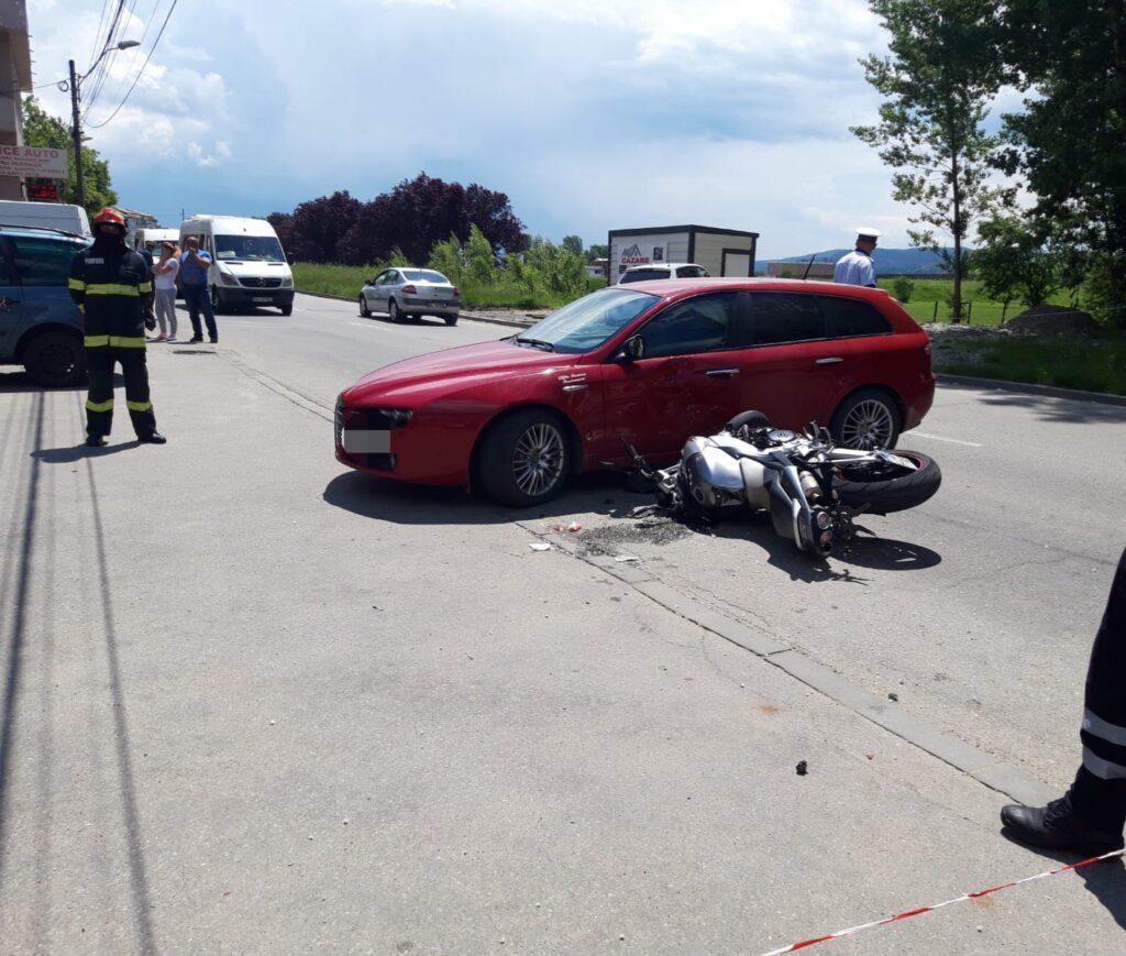 Weekend negru pentru șoferi. Motociclist, victimă azi în Argeș