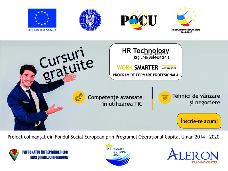 ASIGURĂ SUCCESUL COMPANIEI TALE PRIN PERFECȚIONAREA ANGAJAȚILOR!