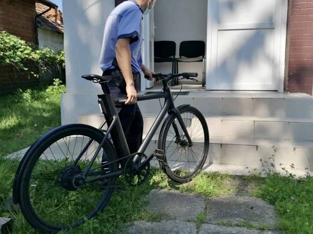 Bicicletă furată în Frankfurt, localizată într-o comună din Argeș