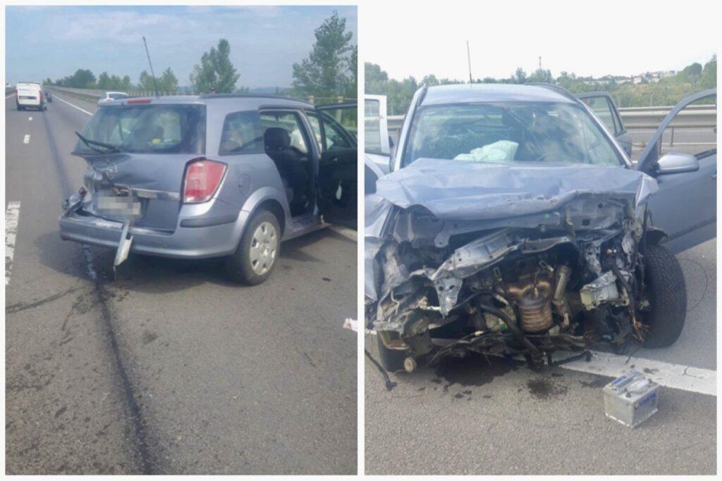 Video | Accident cu patru victime rănite pe A1