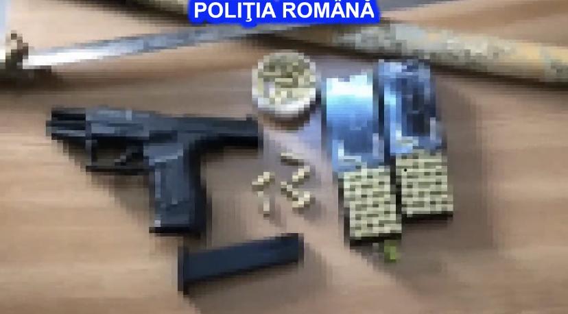 Amenințări cu sabia și pistolul în Argeș