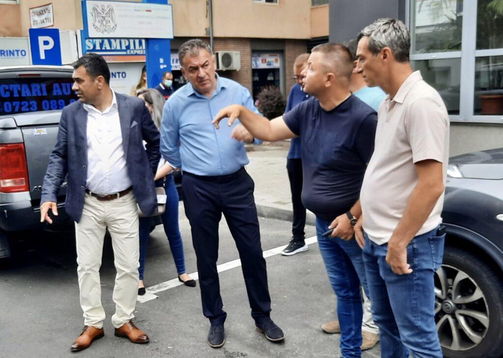 Video: Primarul Gentea, azi, pe bulevardul Brătianu