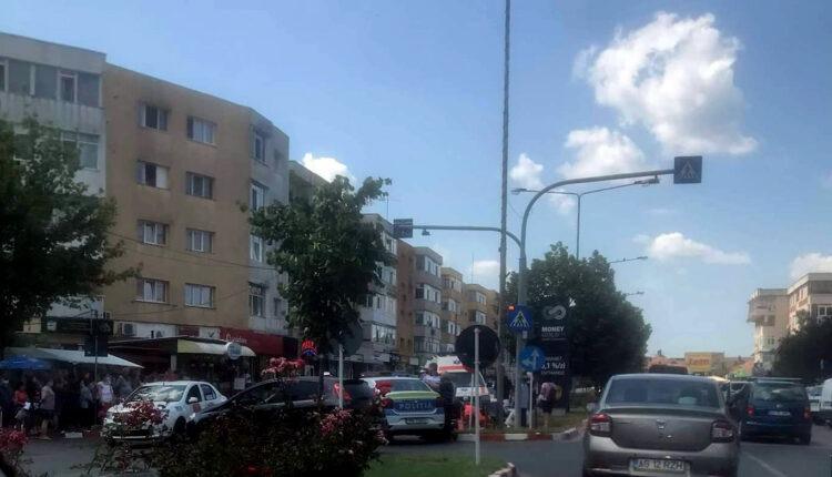 Femeie spulberată de maşină pe marcaj În Pitești
