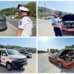Sute de vitezomani sancționați astăzi de polițiștii argeșeni