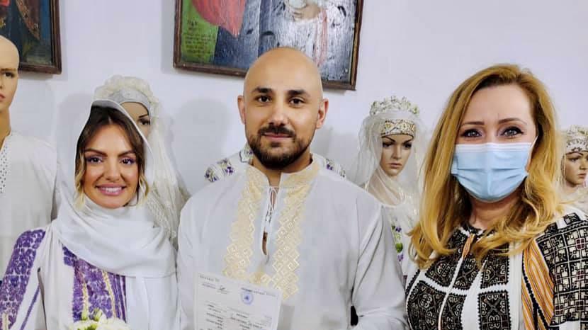 Lăsconi a oficiat căsătoria Alexandrei Stan cu... Mr. Saxobeat