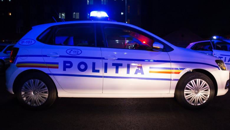 Băut la volan, a devenit agresiv cu polițiștii în Argeș