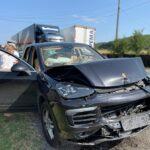 Video | Accident în lanț. 4 mașini implicate în Argeș!