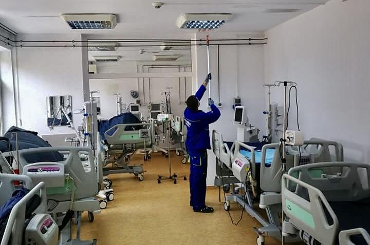 În lipsa pacienților, secția Covid de la Mioveni a intrat în revizie