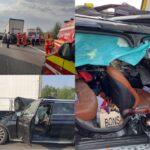 Video | Filmul accidentului mortal de pe A1
