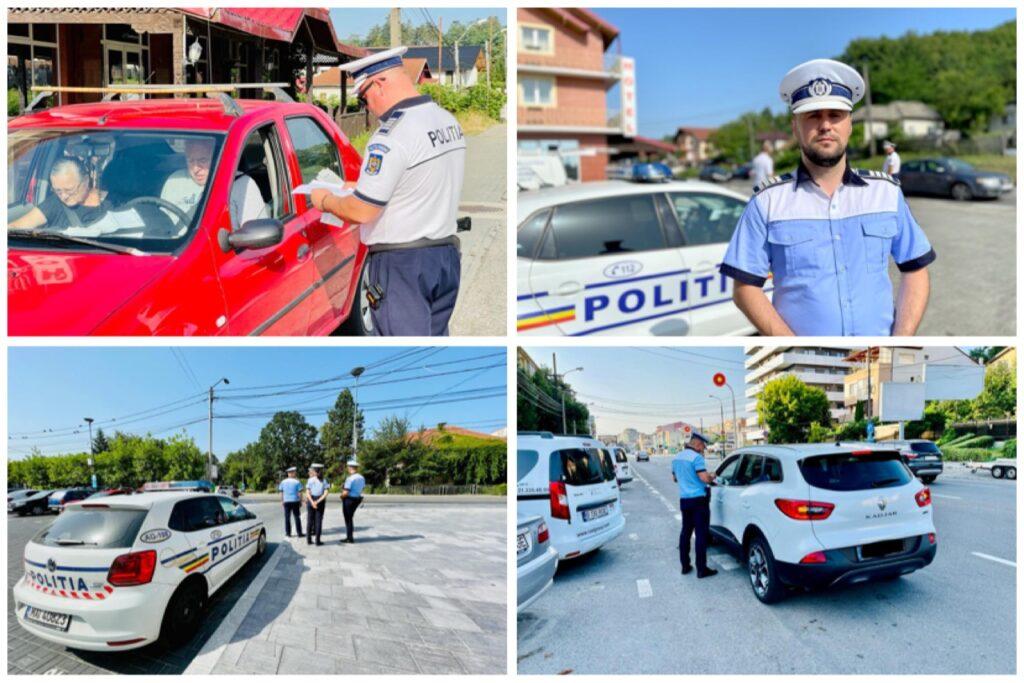 Sute de amenzi în Argeș. Șoferi prinşi băuți la volan!