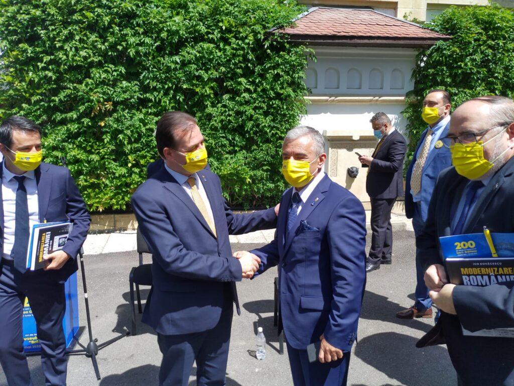 PNL Câmpulung susține moțiunile lui Miuțescu și Orban