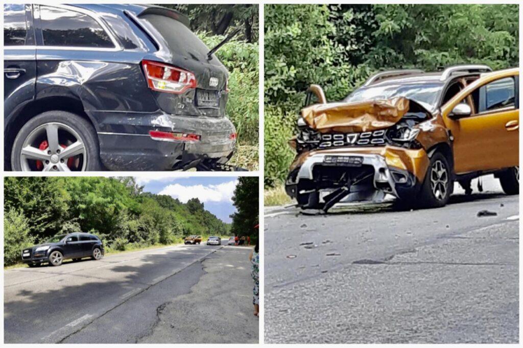 Copil rănit în accident. Șoferii, testați cu etilotestul!