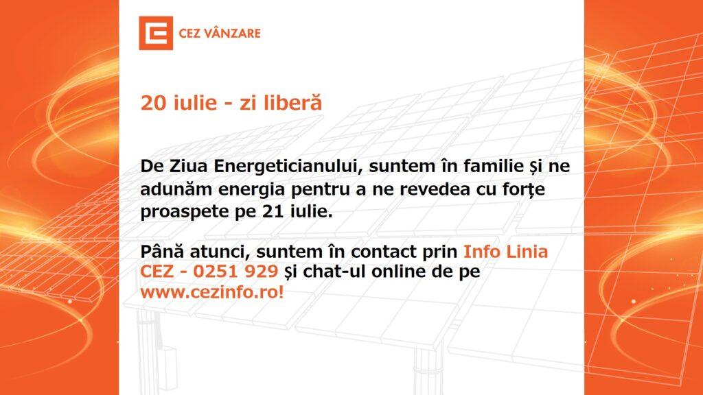 De Ziua Energeticianului, Centrele de Relații cu Utilizatorii