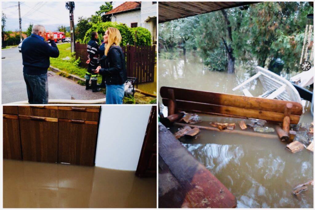 Potop pe o stradă din Câmpulung, tras la...indigo după 40 de ani