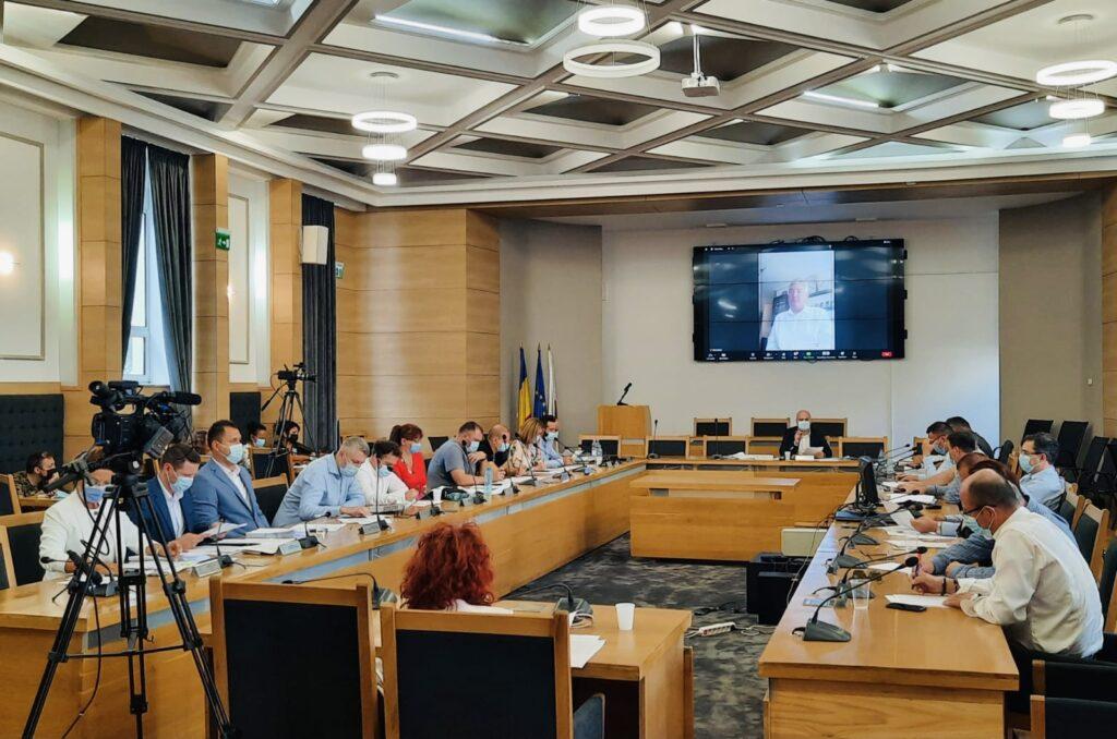 Video | Confruntare Gentea - Tofan în Consiliul Local Pitești