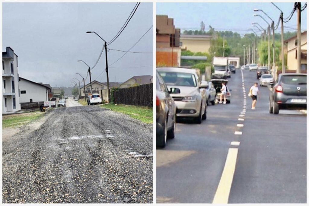 Video: Strada din Pitești, modernizată şi… recepţionată
