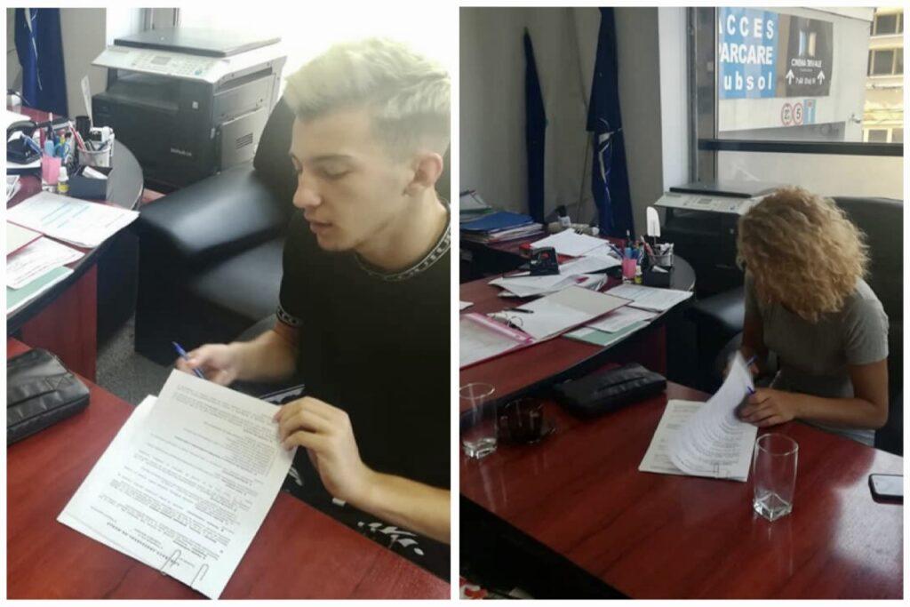 Doi tineri instituționalizați, angajați în Argeș