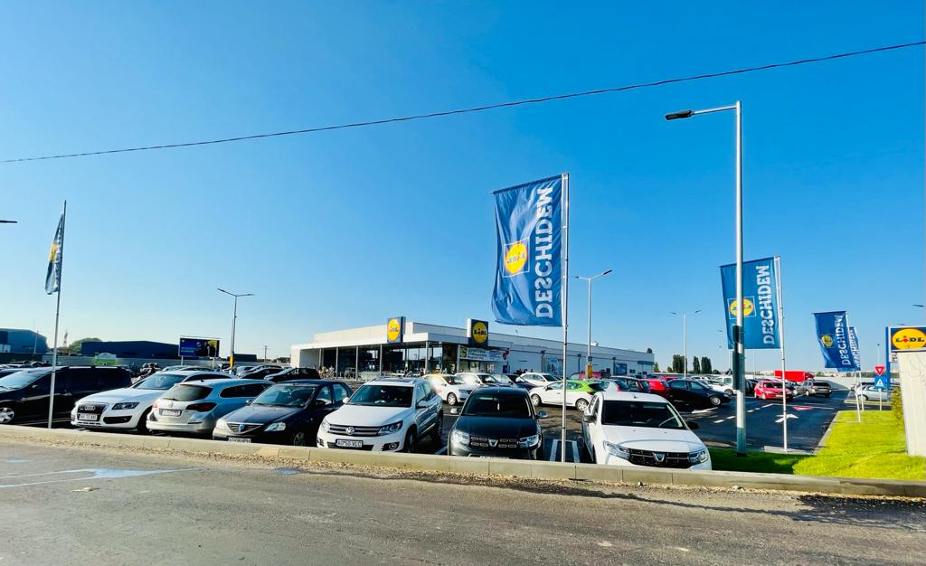 S-a deschis noul Lidl din Ștefănești. Aglomerație de la prima oră!