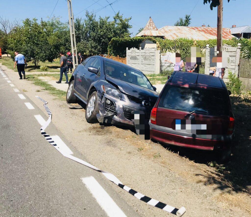 Femeie rănită în accident la Leordeni. S-a întocmit dosar penal!