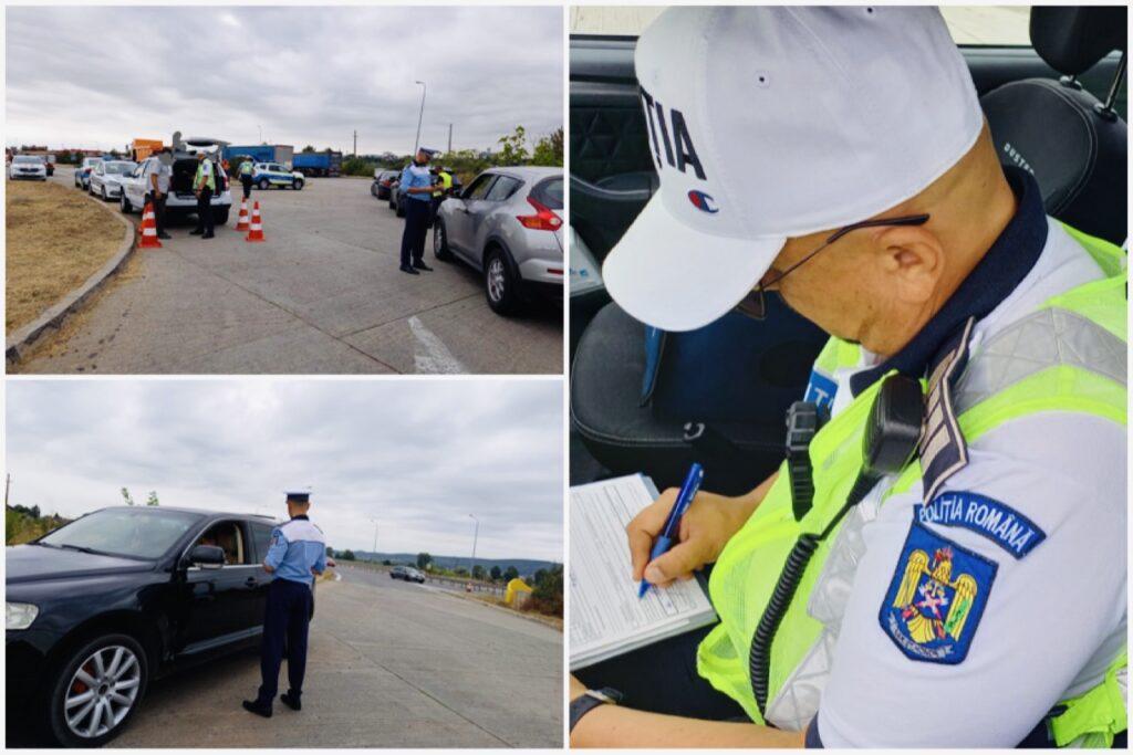 Video: Sute de șoferi verificați și sancționați astăzi, pe A1
