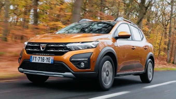 Dacia Sandero, lider pe segmentul de clienți privați, în Germania