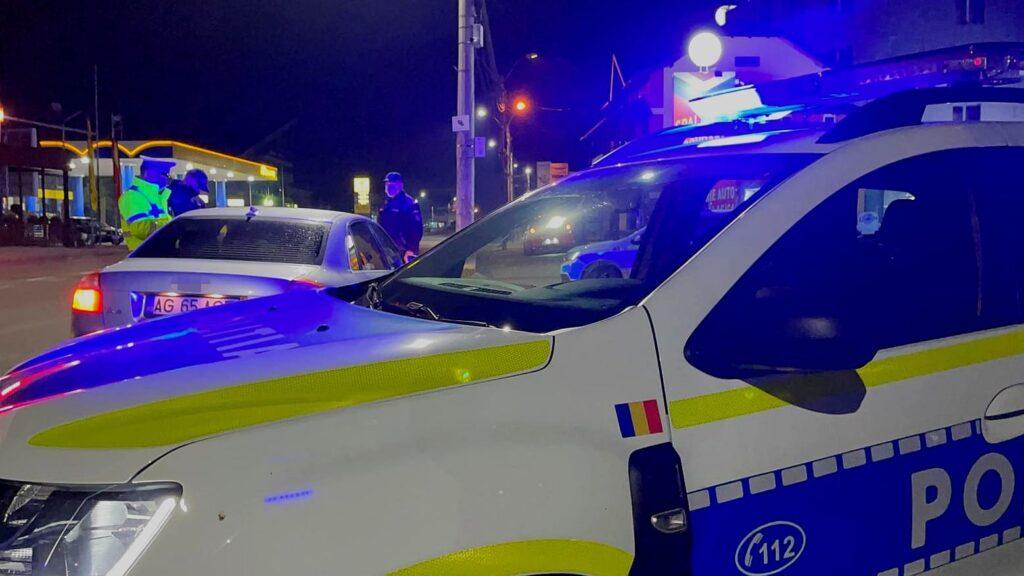 La miezul nopții, tânăr prins cu permis de conducere fals în Argeș