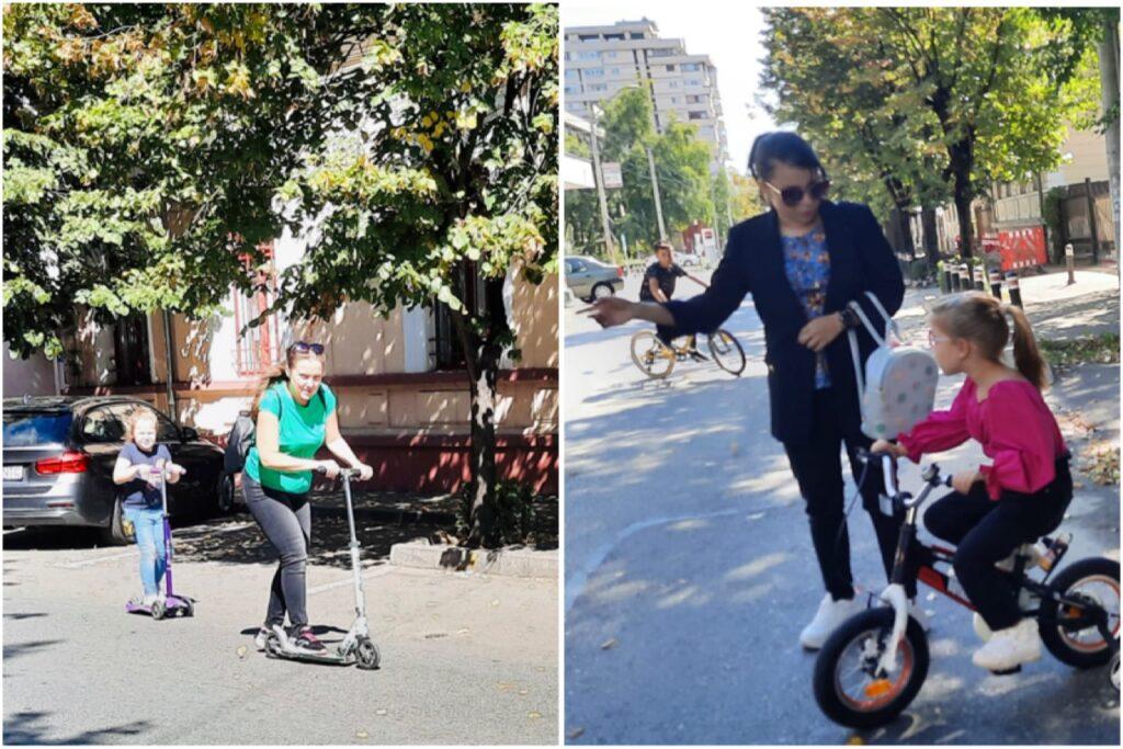 Video: Un bulevard din Pitești închis, bucuria bicicliștilor!