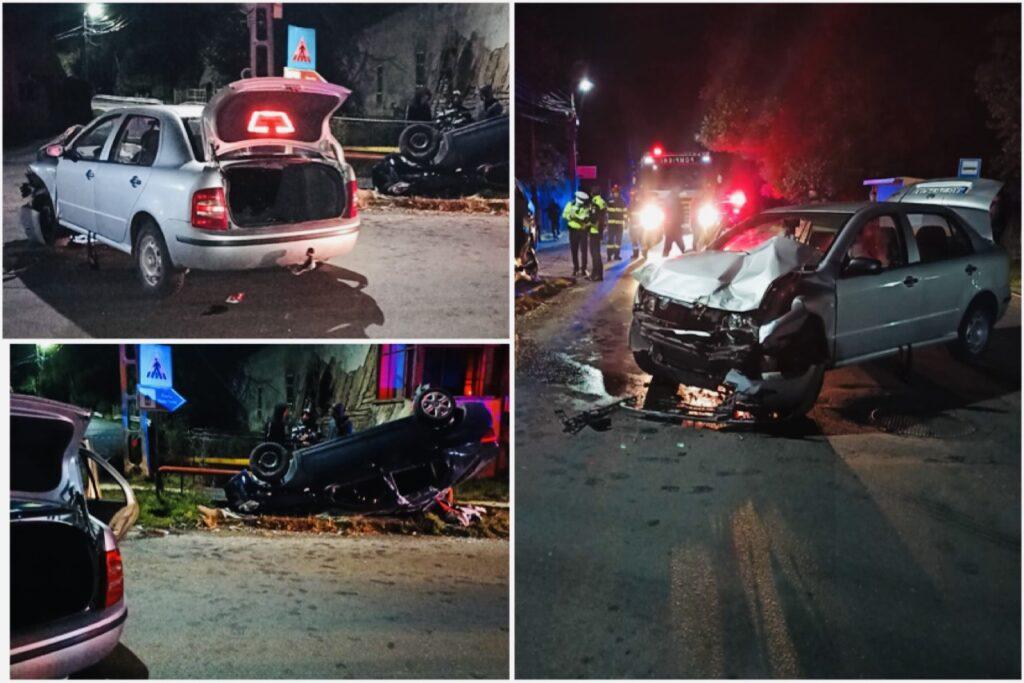 Accident cu patru victime în Argeș