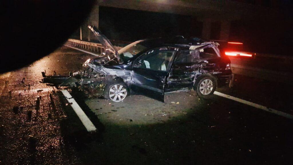 Accident cu victimă între un tir și un autoturism pe A1