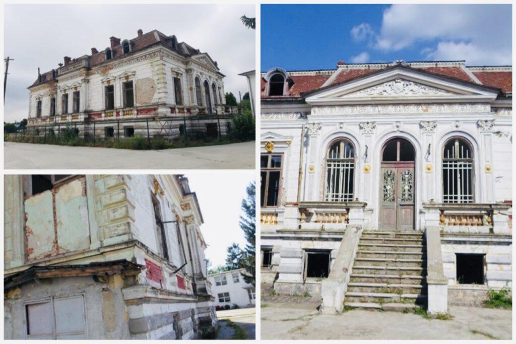 Povestea Casei Nicolau, ruina care domină curtea Liceului Costești