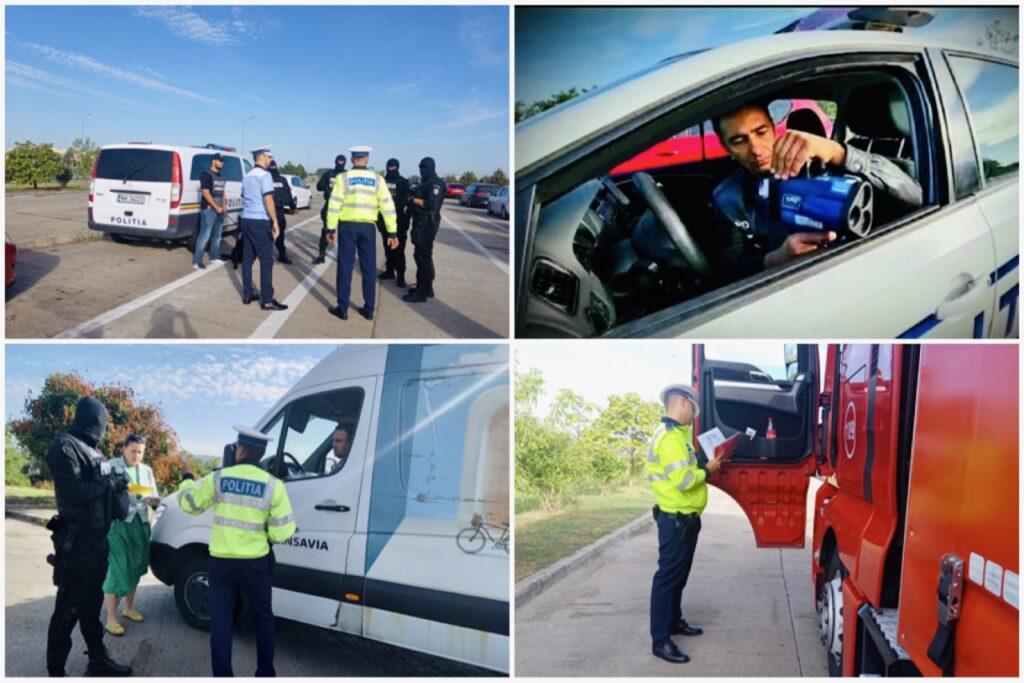 (Video) Șoferi opriți și verificați la sânge pe A1