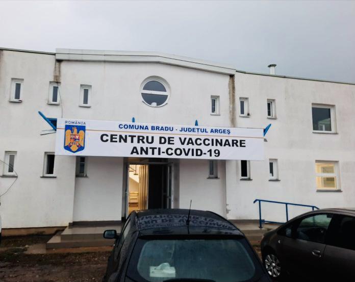 S-a redeschis centrul de vaccinare din Bradu