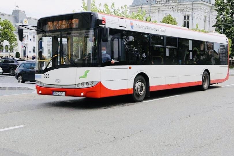 Se schimbă orarul de circulație al autobuzelor în Pitești