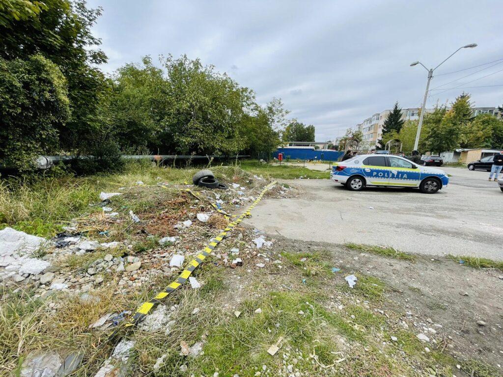 Presupusul criminal din Pitești, găsit aproape de cadavrul victimei