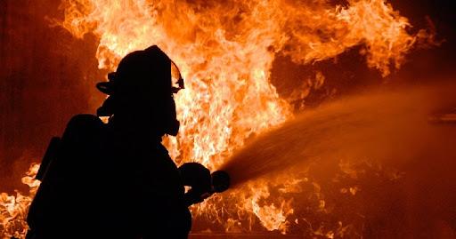 Incendiu la un restaurant din centrul Piteștiului