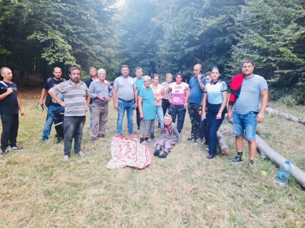 Mobilizare la Uda pentru găsirea unei bătrâne dată dispărută