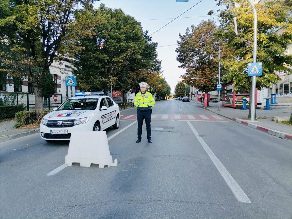 Astăzi: Circulație blocată în centrul Piteștiului