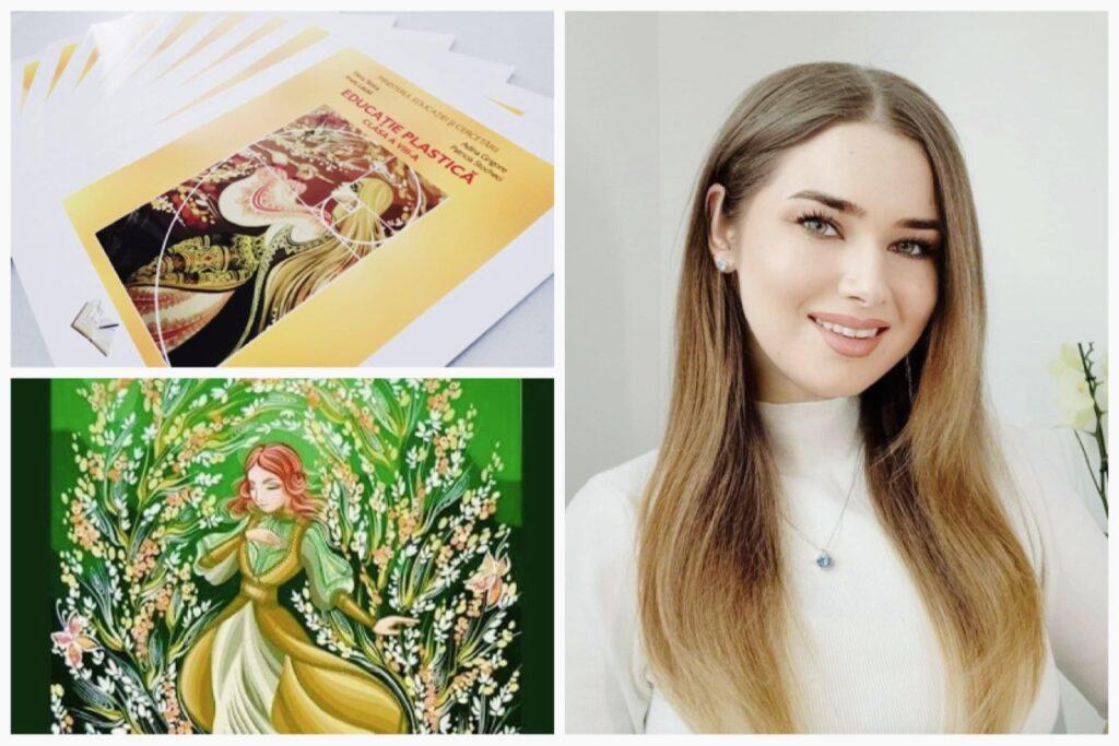 Patricia - tânără pictoriță, autoare și ilustratoare de manuale