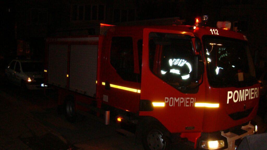 Incendiu la un apartament din cartierul Găvana