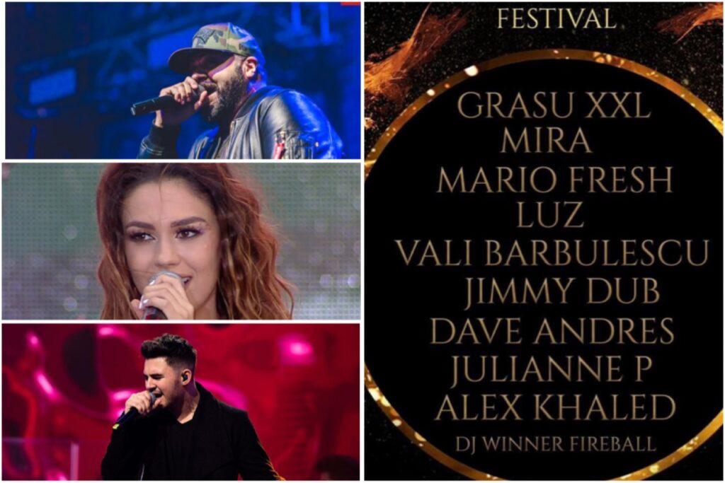 Festival cu artiști celebri în parcul Lunca Argeșului din Pitești