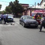 Femeie lovită în Piteşti de un tânăr cu BMW