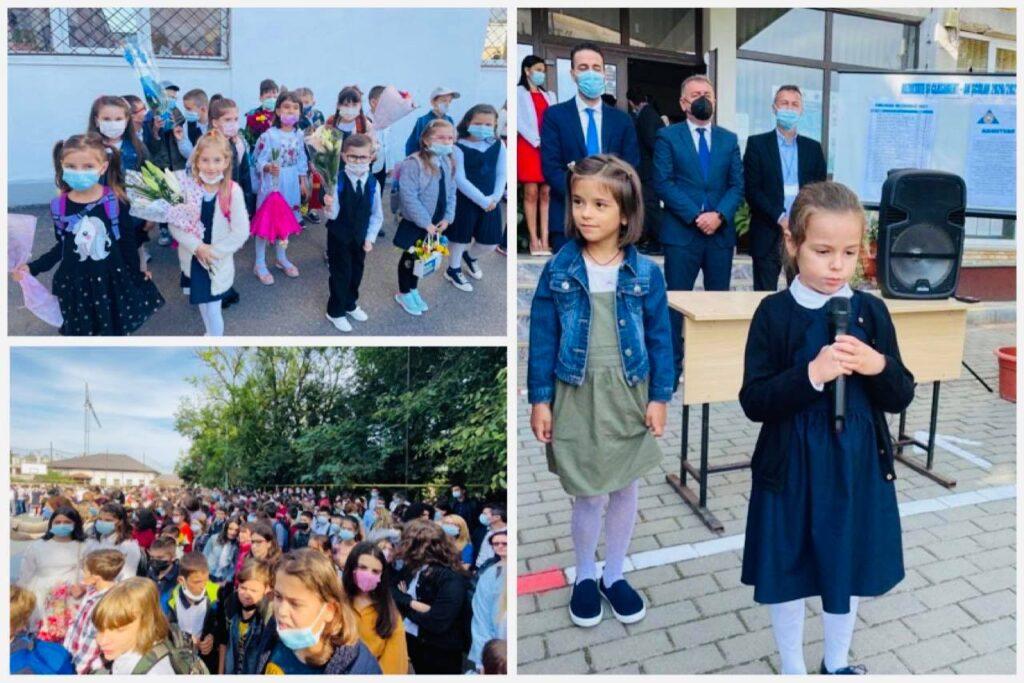 Deschiderea anului școlar la Pitești – emoții, bucurie, reîntâlnire!