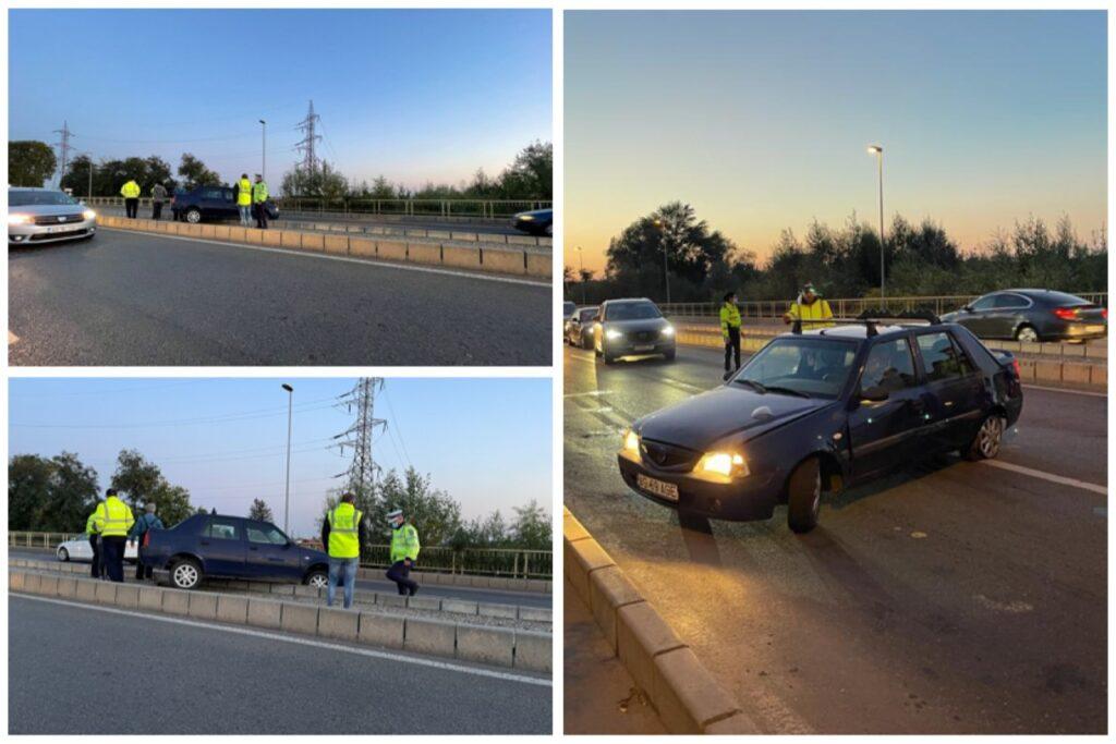Accident spectaculos la intrarea în Ștefănești. Traficul este blocat!