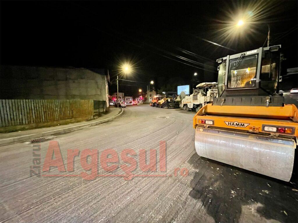 Trafic restricționat pe două străzi importante din centrul Piteștiului