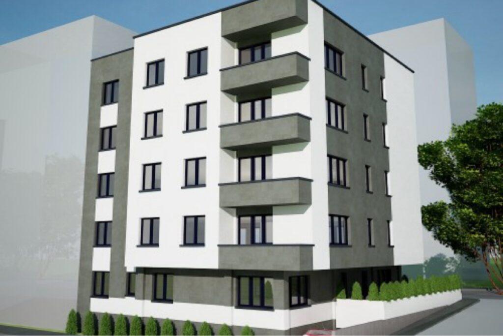 Un nou bloc cu cinci etaje, pe bulevardul Republicii din Piteşti?