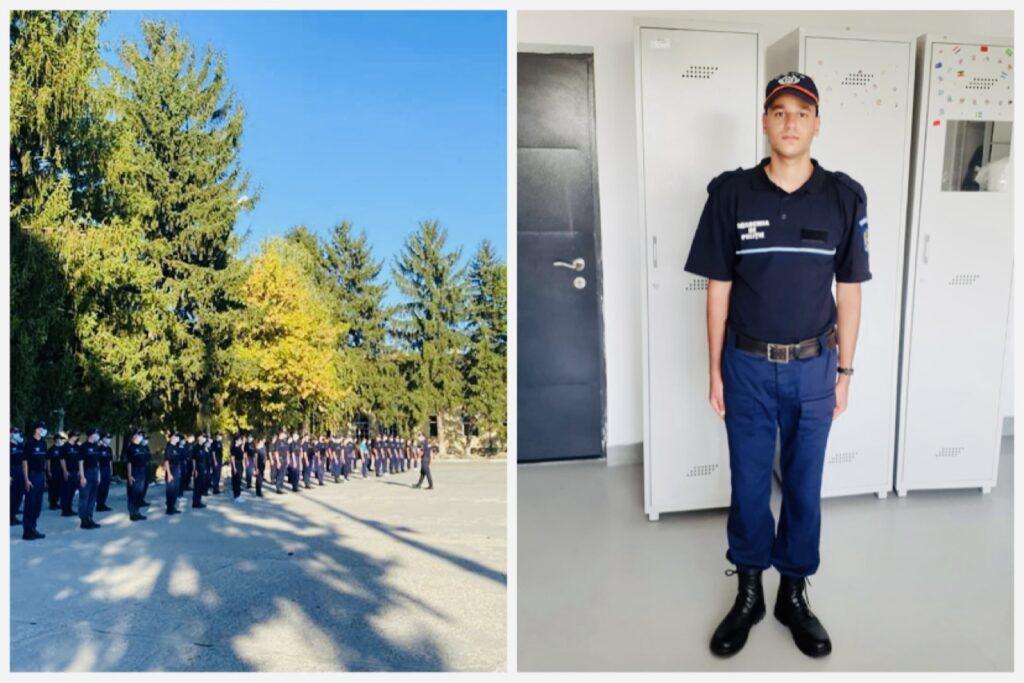 Tânăr din Argeș crescut în plasament, admis la Academia de Poliție