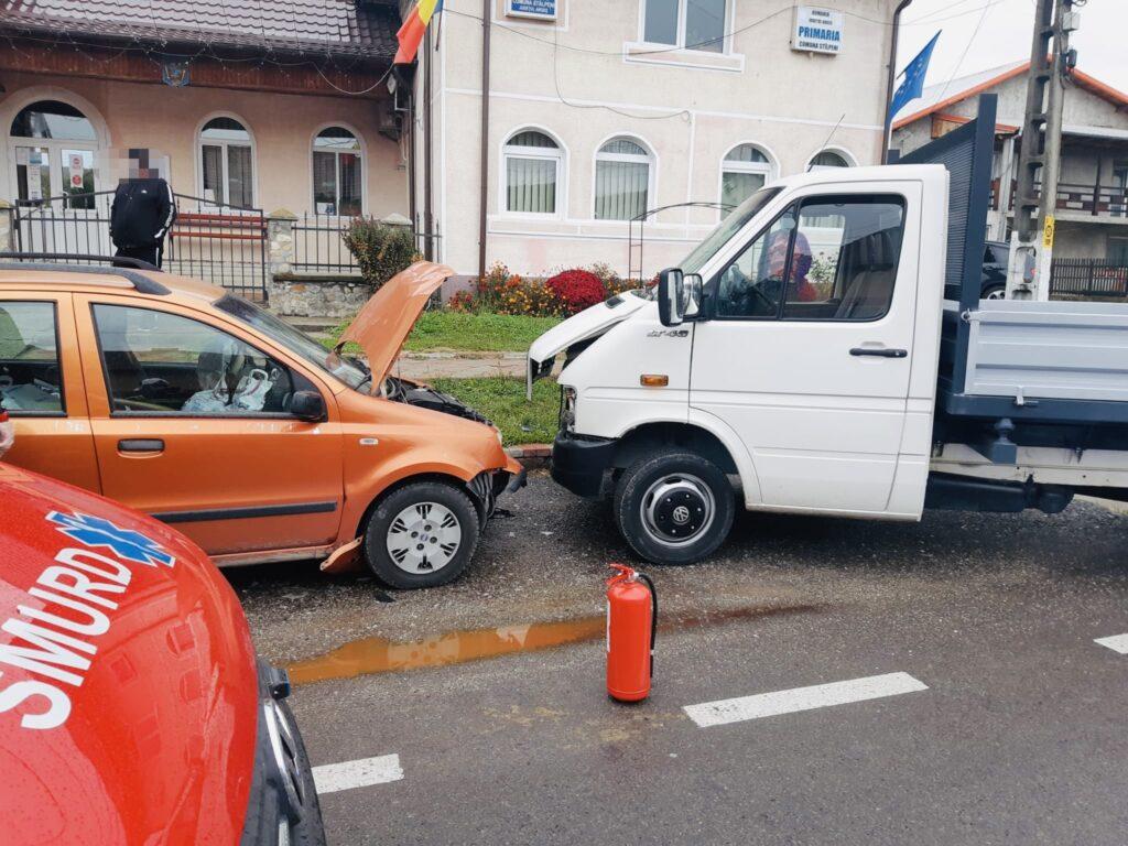 Accident grav în Argeș. I-a retezat piciorul unui pieton cu mașina